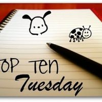 Top Ten Tuesday Anniversary!