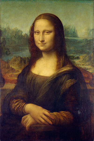 It's the mother-flipping Mona Lisa, y'all! (Source)