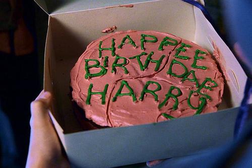 Mmmm cake a la Hagrid. (image source)
