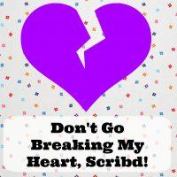 Don't Go Breaking My Heart, Scribd
