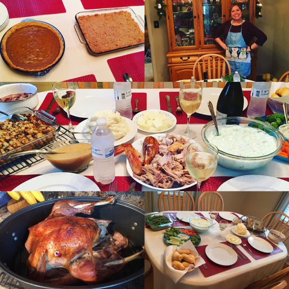 I also successfully cooked a Thanksgiving feast, which is especially impressive given my track record in the kitchen.
